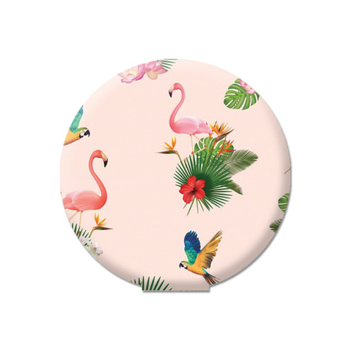 Sticky Pad_flamingo pink